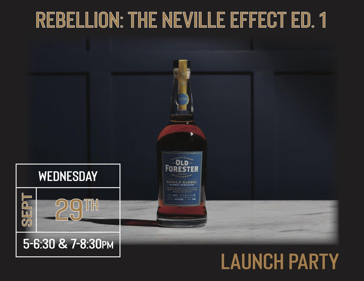 Old Forester Barrel Select Private Release Party, 29 September   Event in Wilmington   AllEvents.in