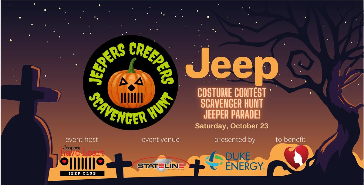 Jeepers Creepers Scavenger Hunt, 23 October | Event in Fort Mill | AllEvents.in