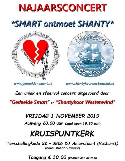 Smart ontmoet Shanty