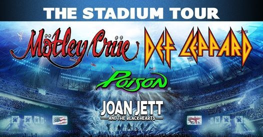 The Stadium Tour: Motley Crue & Def Leppard at FirstEnergy Stadium, 3 July | Online Event | AllEvents.in