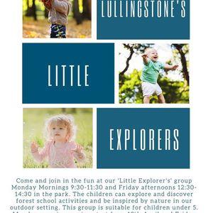 Lullingstones Little Explorers - Toddler Group