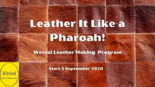 Leather It Like a Pharoah