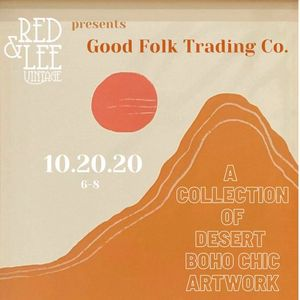 Artist Meet & Greet with Muscatine local Good Folk Trading Co.
