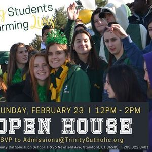 Trinity Catholic High Schools Open House 223 at 12pm