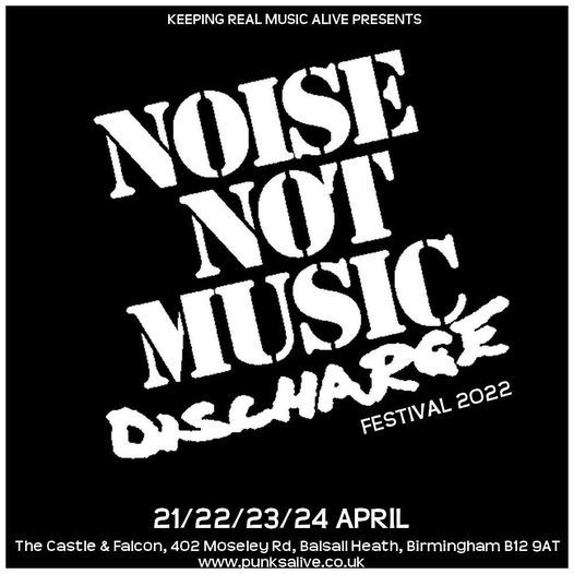 Noise not music festival 2022, 21 April | Event in Birmingham | AllEvents.in