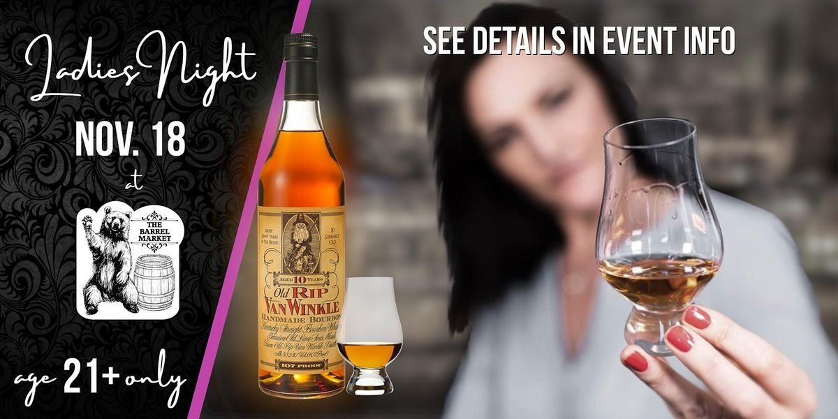 Ladies. Night At The Barrel Market, 18 November | Event in Lexington | AllEvents.in