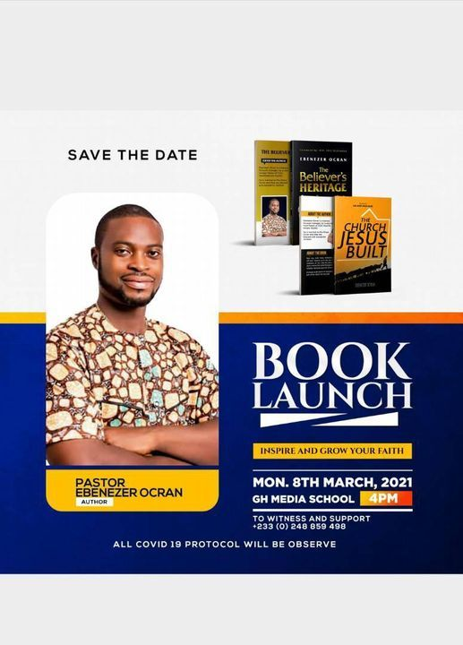 Book Launch, 8 March   Event in Accra   AllEvents.in