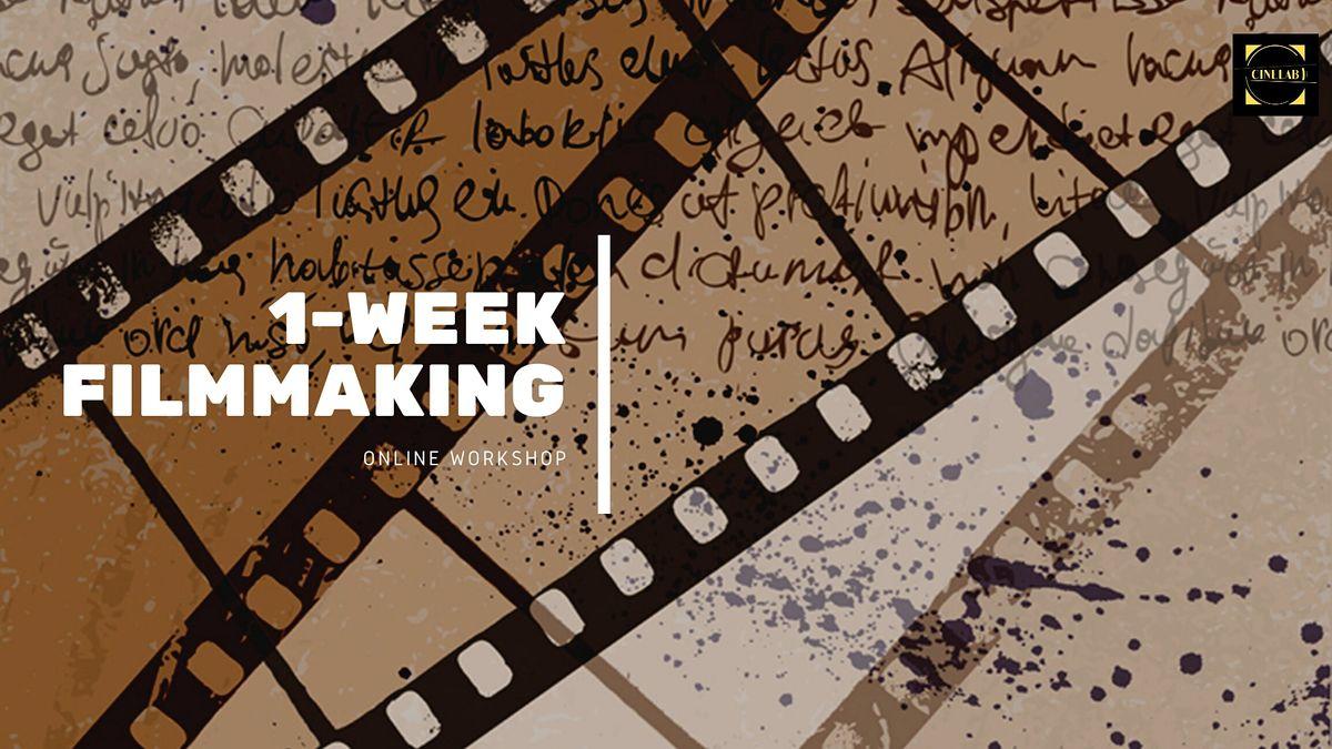 1-week Filmmaking workshop, 18 October | Online Event | AllEvents.in