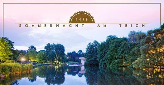 Sommernacht am Teich 2019  Westfalenpark Dortmund