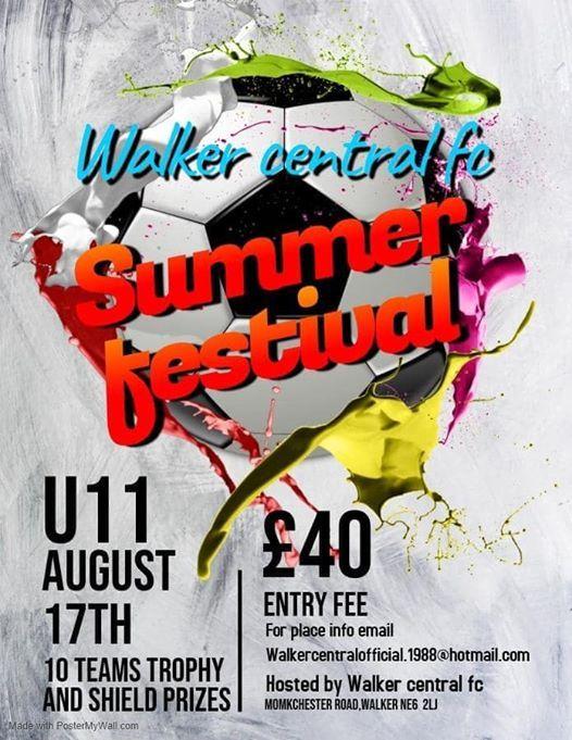 Benfield Tardini playing Walker Central Summer Festival