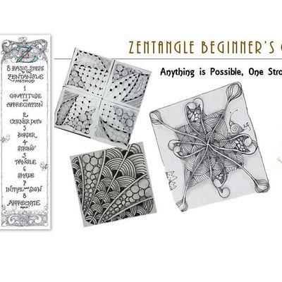 Zentangle  Essential Beginners Course(ONLINE)  () - 12122020