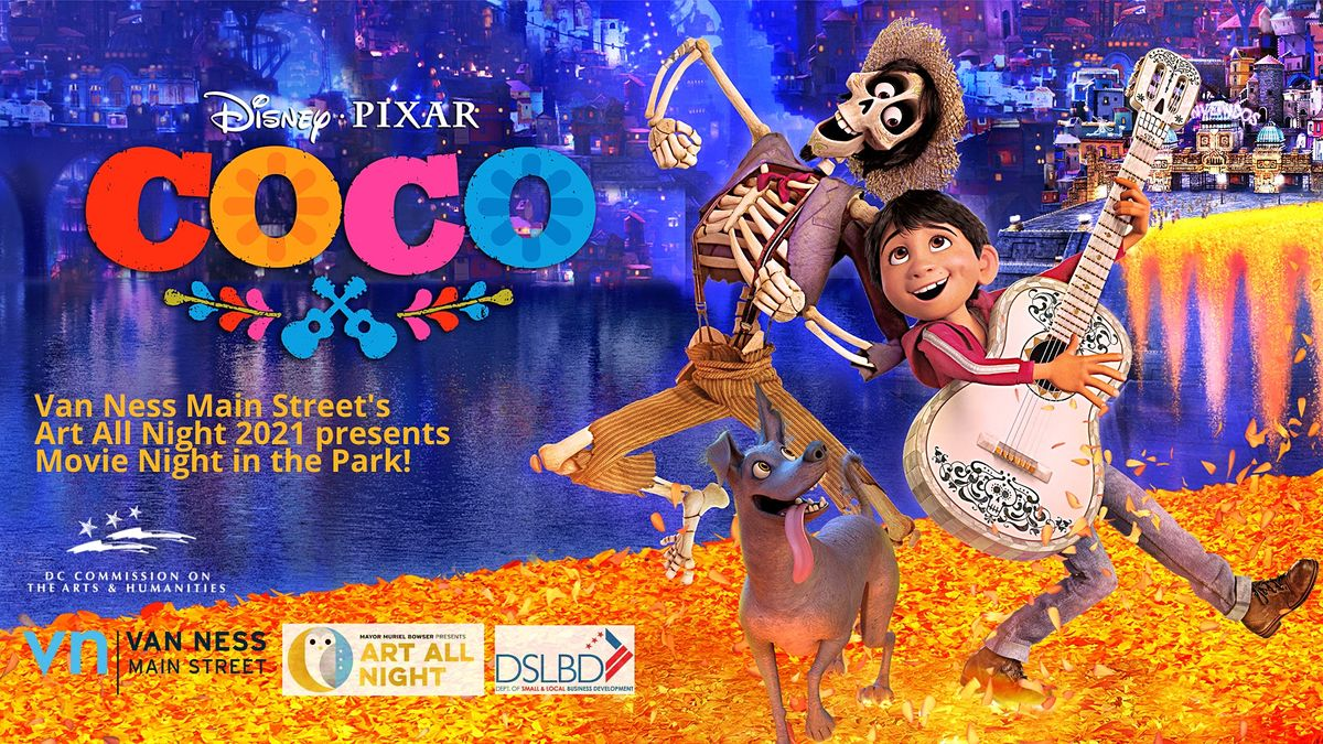 VNMS Art All Night 2021 Presents Movie Night in the Park with Coco | Event in Washington | AllEvents.in