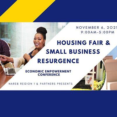 November 06 2021 Free Community Housing Fair and Business Resurgence Event