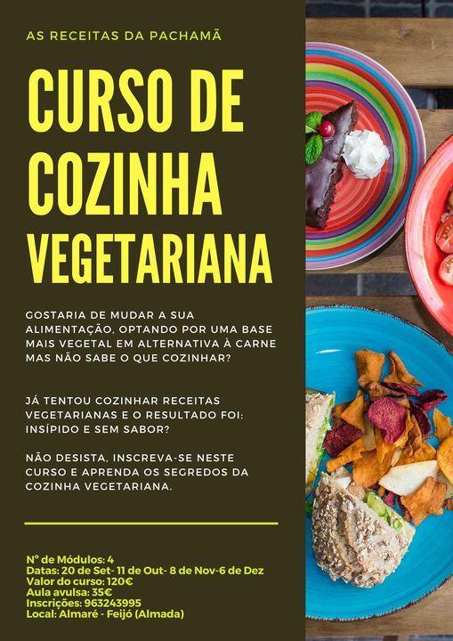 Curso de Cozinha Vegetariana- As receitas da Pachamã   Event in Almada   AllEvents.in