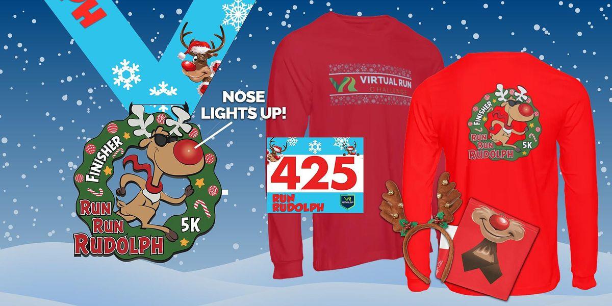 2020 Run Run Rudolph Virtual 5k Run Walk - Worcester, 1 December | Event in Worcester | AllEvents.in