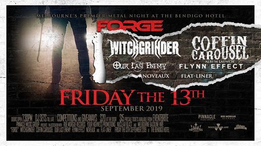 FORGE September Edition  Friday the 13th Party