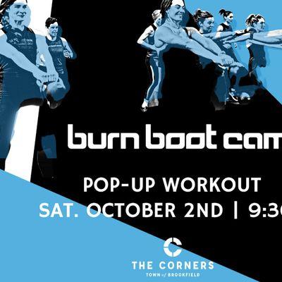Burn Boot Camp Pop Up