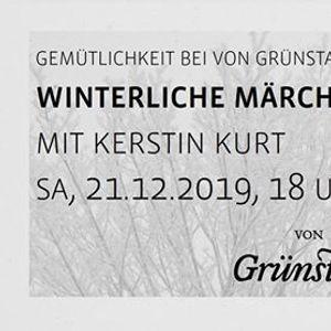 Winterliche Mrchenstunde bei von Grnstadt