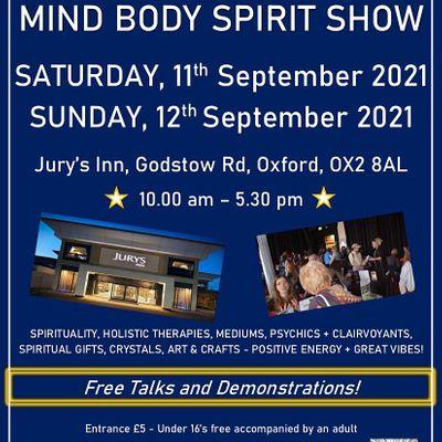 Oxford Mind Body Spirit Wellbeing Show