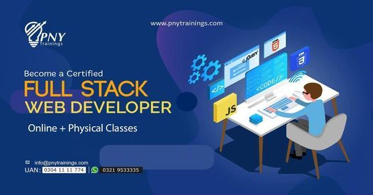 Become a Certified Full Stack Web Developer, 20 April | Event in Lahore | AllEvents.in
