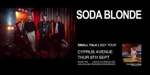 SODA BLONDE, 9 September   Event in Cork   AllEvents.in