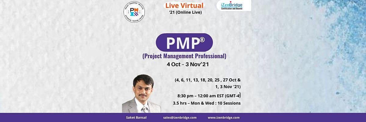 PMP Online live Sessions  4 Oct – 3 Nov'21 (Online Live), 4 October | Online Event | AllEvents.in