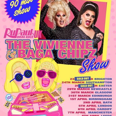 Klub Kids Exeter presents The Vivienne & Baga Chipz Show (ages 14)