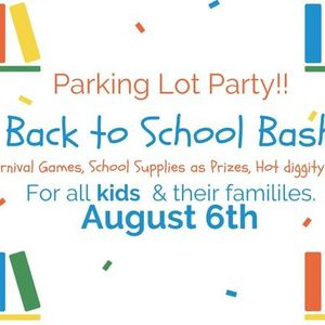 Back to School Parking Lot Party