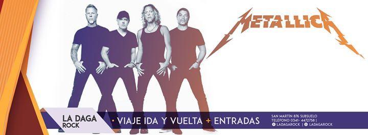 Metallica Abril Argentina (La Daga Rock Rosario)