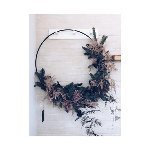 DIY  Flower Hoops (kerst-editie)