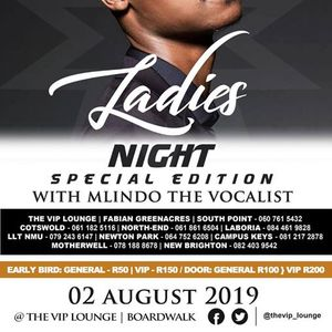 Ladies Night with Mlindo The Vocalist