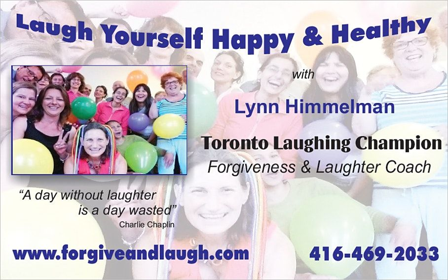 Outdoor Energy-Boosting Laughter Classes x 4: Sep. 30 to Oct. 21 | Event in Toronto | AllEvents.in