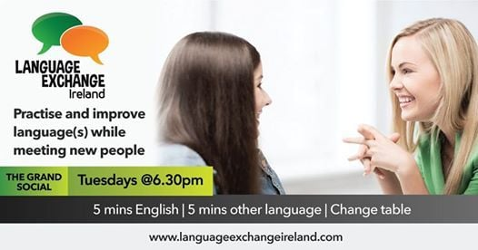 Tuesday Language Exchange Dublin