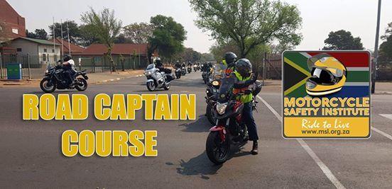 Road Captain Course (Pretoria Bikers Council)