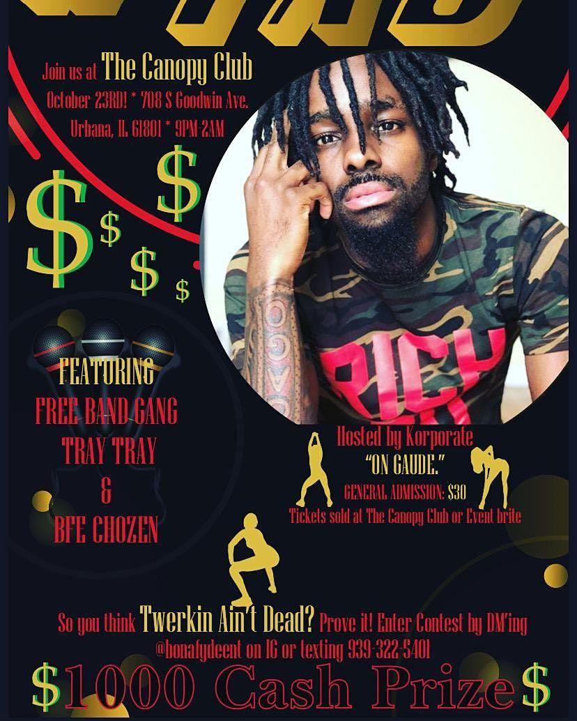 #Twerkin Ain't Dead   $1000 cash prize   Live performances | Event in Urbana | AllEvents.in