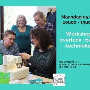 Workshop overlock  de basistechnieken