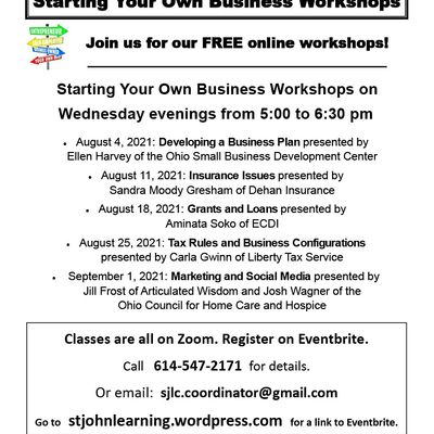 Start Your Own Business Marketing and Social Media