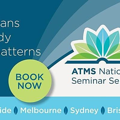 ATMS National Seminar Series 2021- Adelaide