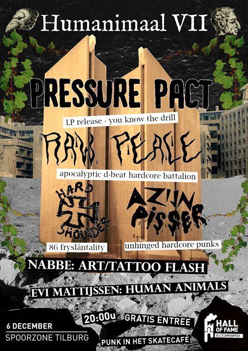 Humanimaal VII Pressure Pact  Raw Peace  Hard Shoulder