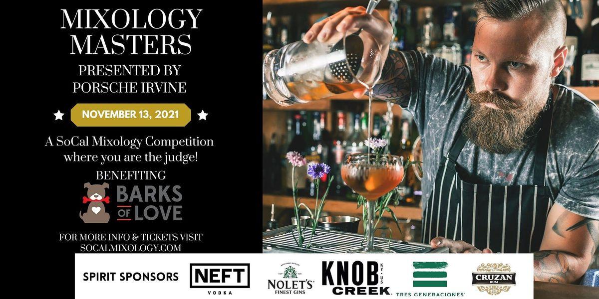 Mixology Masters, Presented by Porsche Irvine, 13 November | Event in Irvine | AllEvents.in