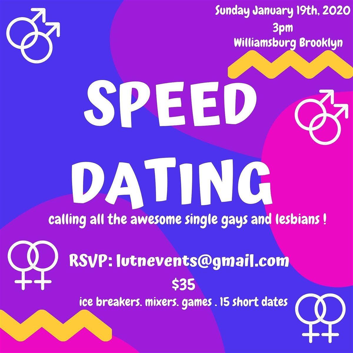 Speed dating williamsburg
