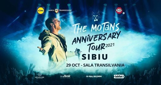 Turneu Aniversar The Motans - Sibiu, 13 February | Event in Bacau | AllEvents.in