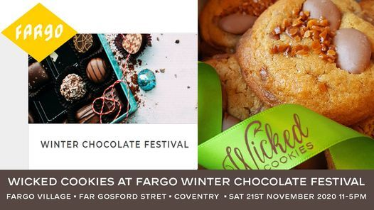 Wicked Cookies at Fargo Village Winter Chocolate Festival, 21 November | Event in Coventry | AllEvents.in