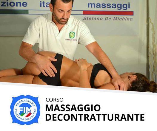 Corso  Massaggio Decontratturante cervicale schiena (catania)