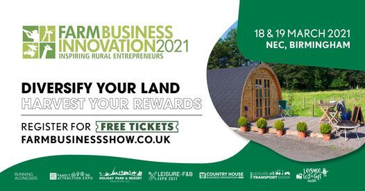Farm Business Innovation 2021, 18 March   Event in Birmingham   AllEvents.in