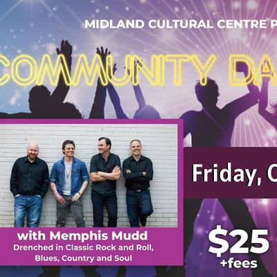 Community Dance Nights with Memphis Mudd