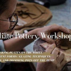 Intermediate Pottery Workshop (Wheel)
