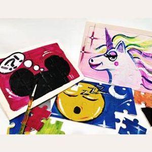Digital DIY] Puzzle Painting Class