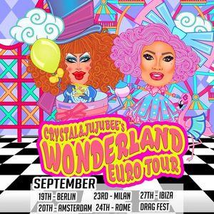 Klub Kids Amsterdam presents CRYSTAL METHYD & JUJUBEEs  Wonderland