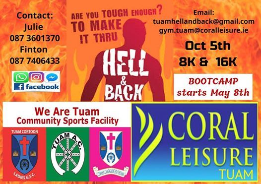 We Are Tuam & Coral Leisure Hell & Back 2019